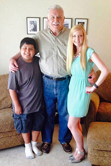 Michael, Jose and Gracie - Easter 2015