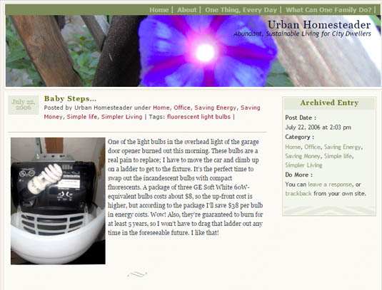 Urban-Homesteader