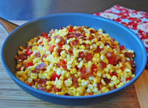 Corn and bacon recipe | Happy Simple Living blog