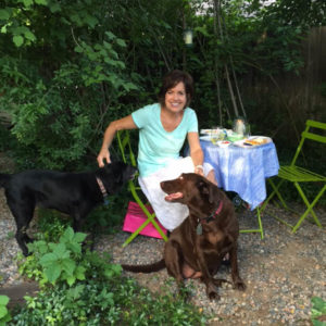 Shady garden | Happy Simple Living blog