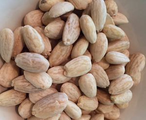 Blanched almonds | Happy Simple Living blog