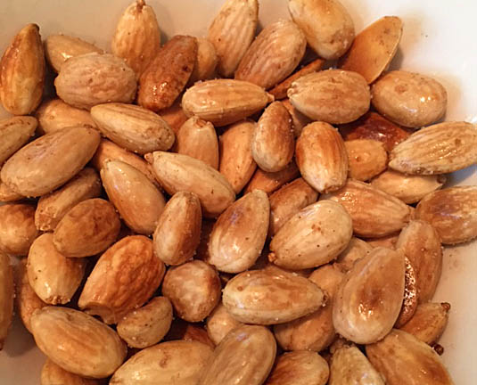 Toasted almonds | Happy Simple Living blog
