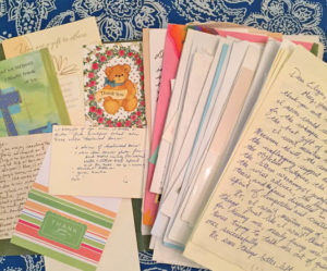 Thank you notes and letters | Happy Simple Living blog
