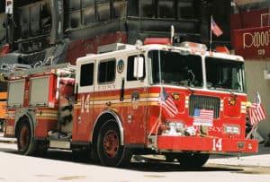 Fire truck 9/11