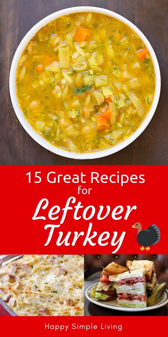 Leftover Turkey Recipes   #turkey #turkeyrecipes #turkeysoup