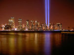 World Trade Center beams of hope