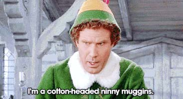 cotton headed ninny