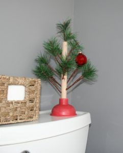 Christmas plunger