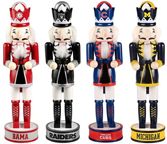 sports nutcrackers
