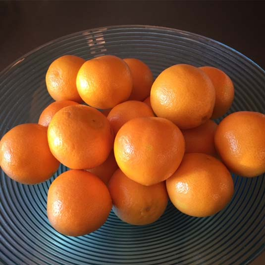 bowl of oranges | Happy Simple Living blog
