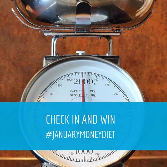 Check In with your progress | January Money Diet