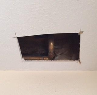 Repair drywall | January Money Diet