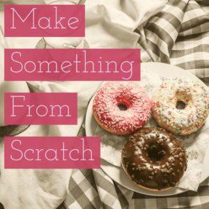 Make Something by Hand | January Money Diet