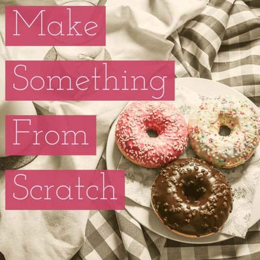 Make Something by Hand   January Money Diet