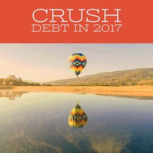 Pay off debt during the January Money Diet