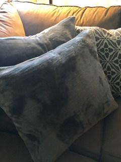 Sew new pillows | January Money Diet