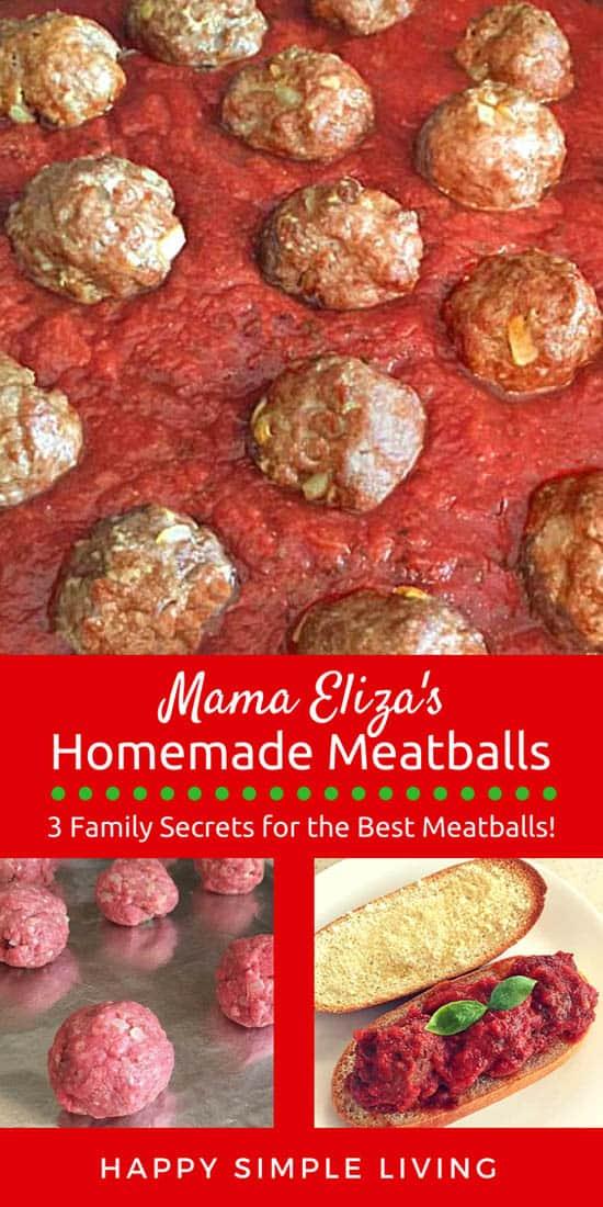 Homemade meatballs | #meatballrecipe #bestmeatballrecipe #homemademeatballs #authenticmeatballs
