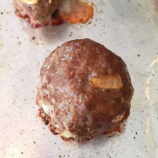 homemade meatball