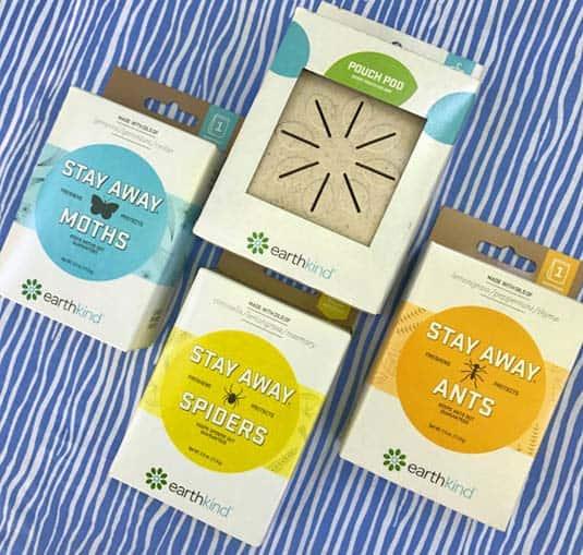 EarthKind natural pest repellents
