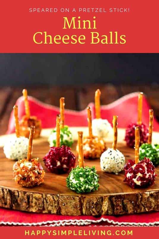 Mini Cheese Balls Recipe