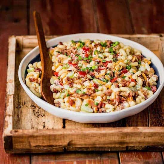 Bacon Macaroni Salad | #bacon #macaronisalad