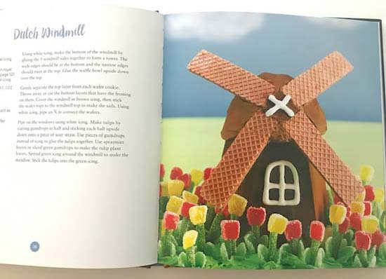 Windmill Gingerbread House