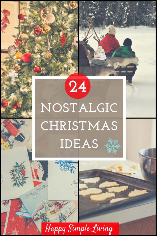Old-fashioned Christmas Ideas   #holidays #Christmas #vintage