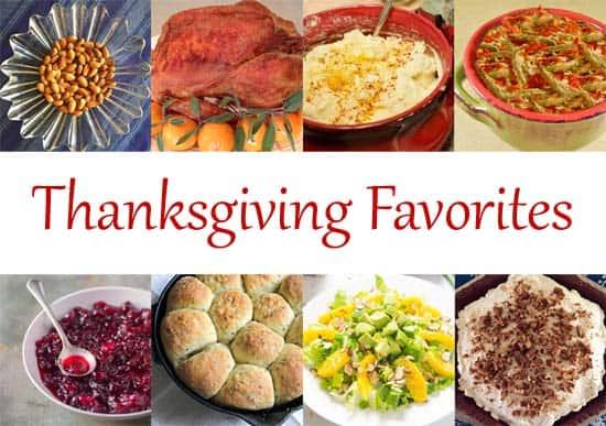 Favorite Thanksgiving recipes | Happy Simple Living blog
