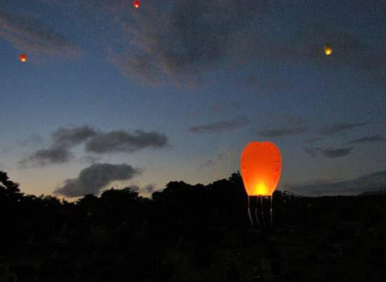 New Years lantern